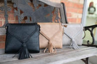 Leather Fringe Crossbody - Oh, Darlin'