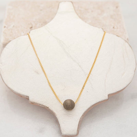 Small Bubble Layering Necklace Stone + Stick - Oh, Darlin'