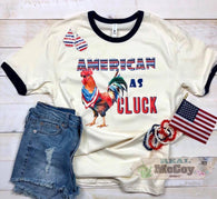 American As Cluck Ringer Tee - Oh, Darlin'