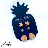 Amber Earring 3 Pack - Oh, Darlin'