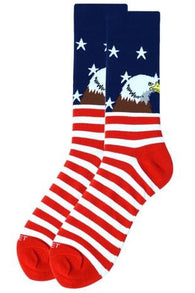 Novelty Mens Socks - Bald Eagle - Oh, Darlin'