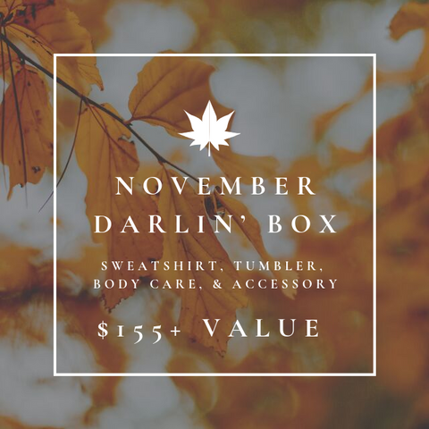 November Darlin' Subscription Box - Oh, Darlin'