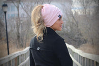 Pretty Simple Peek A Boo Beenie - Adult - Oh, Darlin'