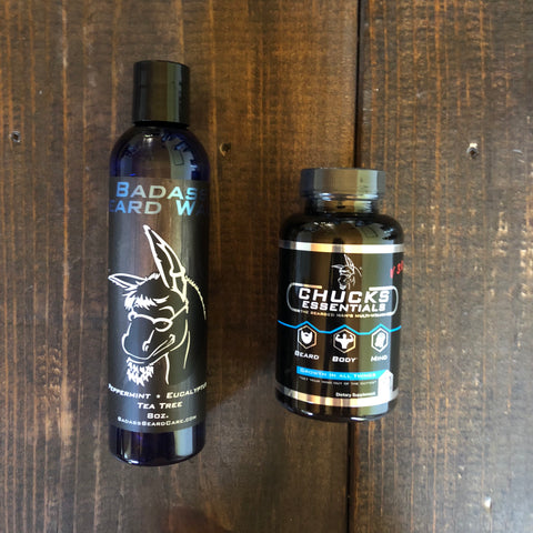 Badass Beard Care Beard Multivitamins - Oh, Darlin'