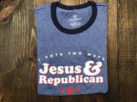 Jesus & Republican Tee - Oh, Darlin'
