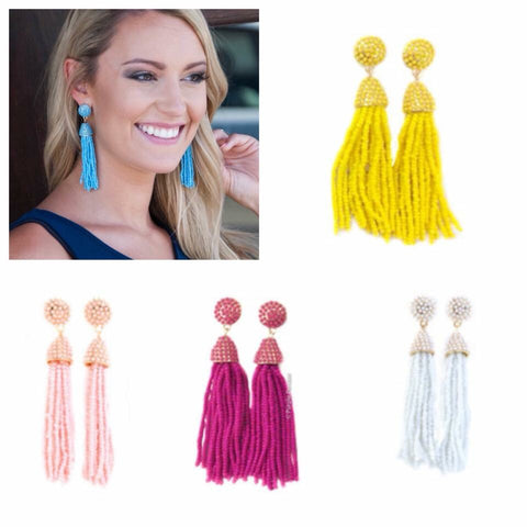 Clara Tassel Earrings - Oh, Darlin'