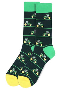 Novelty Mens Socks - Tractor