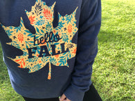 Hello Fall Crew Neck Sweatshirt