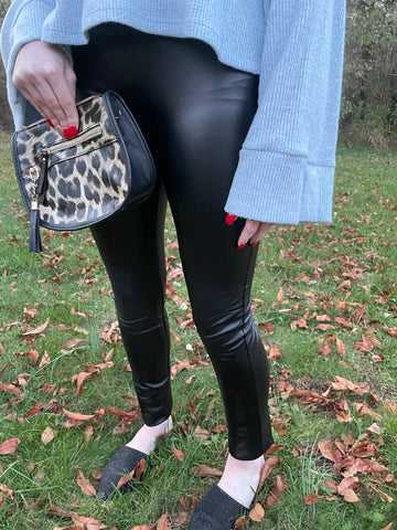 BF Doorbuster Leather Leggings