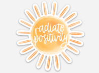 Radiate Positivity Sticker - Oh, Darlin'