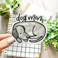 Watercolor Dog Mom Sticker - Oh, Darlin'