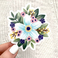 Floral Dainty Design Sticker - Oh, Darlin'