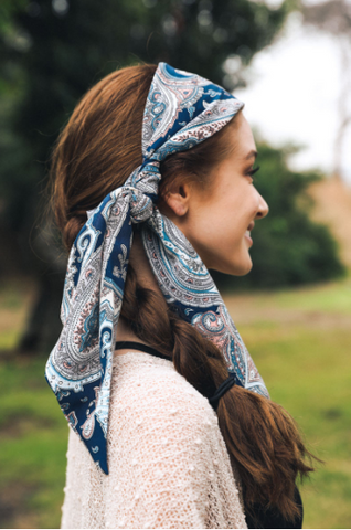 Alexia Hair Scarf Headband - Oh, Darlin'