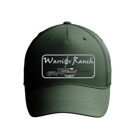 Warrior Ranch Hunter Green Embroidered Baseball Cap