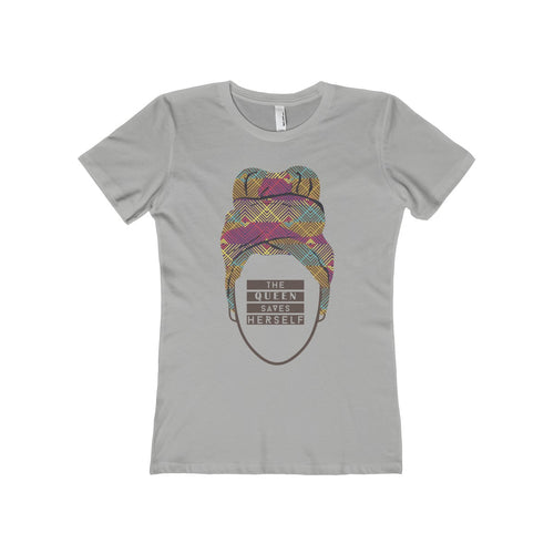 The Queen Saves Herself Tee (multiple colors) - African Wax - Ankara - Chinero Nnamani