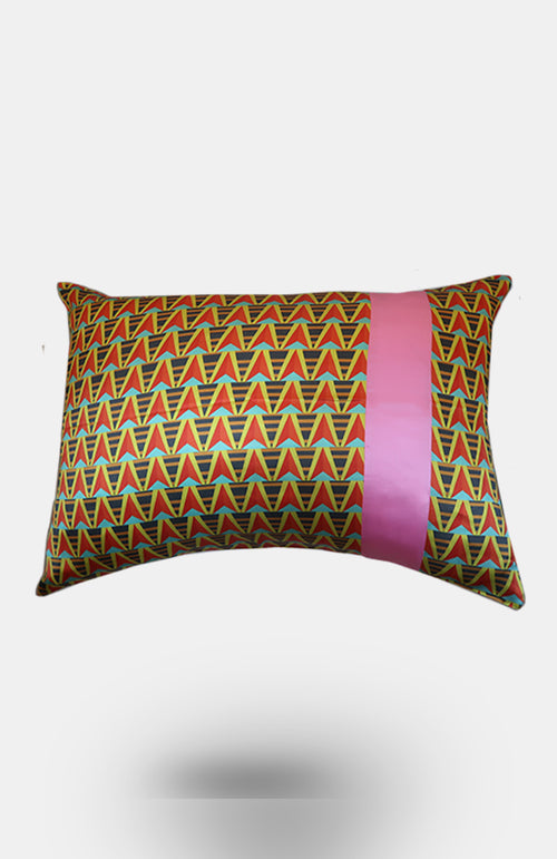 Ciana 100% Silk Pillowcase - African Wax - Ankara - Chinero Nnamani