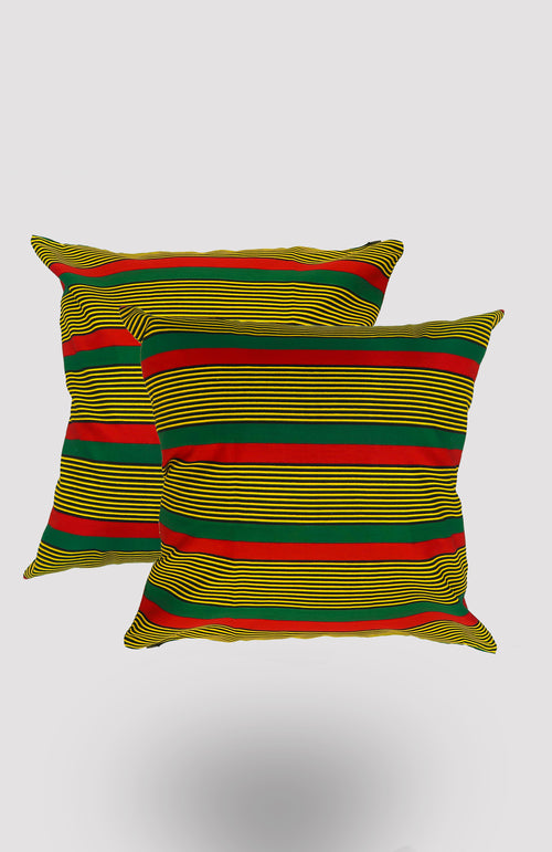 Ulo Accent Pillowcase - African Wax - Ankara - Chinero Nnamani