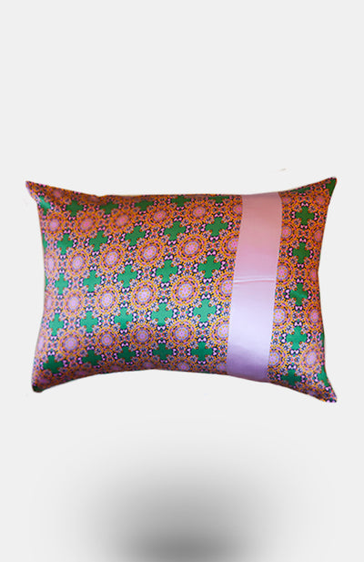 Geryia 100% Silk Pillowcase - African Wax - Ankara - Chinero Nnamani