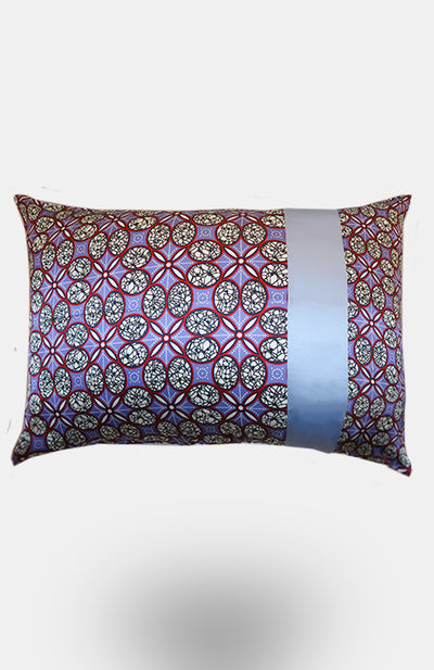 Milochi 100% Silk Pillowcase - African Wax - Ankara - Chinero Nnamani