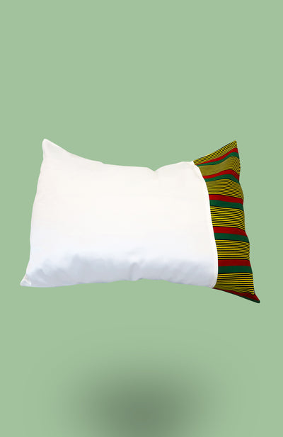 Satin Pillowcase with Ulo - African Wax - Ankara - Chinero Nnamani