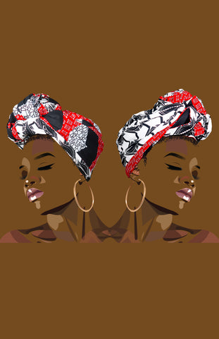 Reversible Zain/Eind Head Wrap