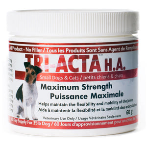 Tri-Acta H.A. - Chubbs Bars, Supplements - pet shampoo, Woofur - Chubbs Bars Company, Woofur Natural Pet Products - Chubbs Bars Canada
