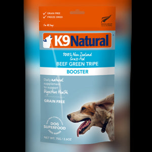 K9 NATURAL TOPPER - BEEF GREEN TRIPE - Chubbs Bars, Freeze Dried Food - pet shampoo, Woofur - Chubbs Bars Company, Woofur Natural Pet Products - Chubbs Bars Canada