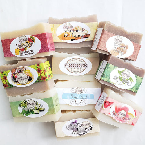 Chubbs Bars - 10 Bar Pick-Your-Own Pack - Chubbs Bars, Volume Packs - pet shampoo, Chubbs Bars Company - Chubbs Bars Company, Woofur Natural Pet Products - Chubbs Bars Canada