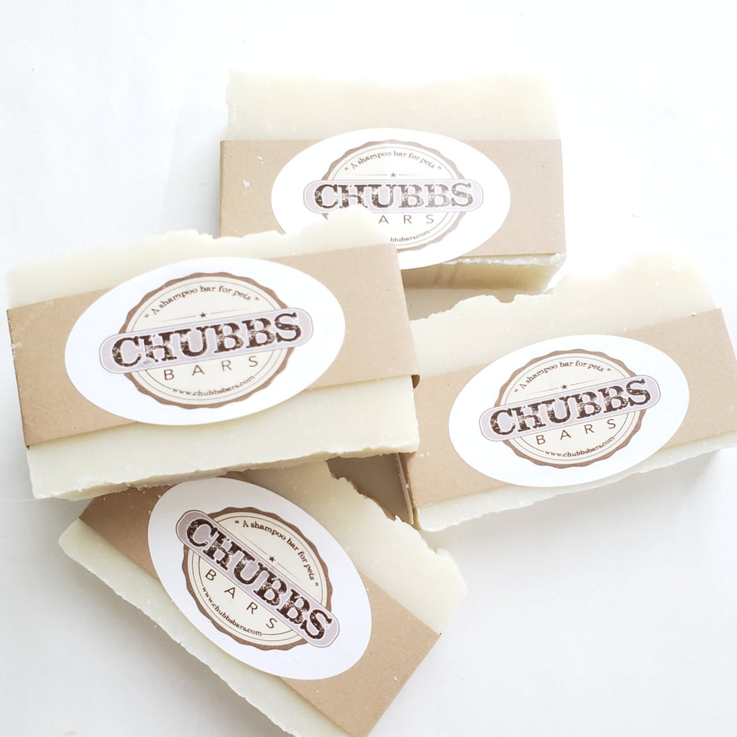 Chubbs Single Bar - Original Unscented - Chubbs Bars, By-the-pound - pet shampoo, Chubbs Bars Company - Chubbs Bars Company, Woofur Natural Pet Products - Chubbs Bars Canada