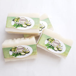 Chubbs Single Bar - Cucumber Mint - Chubbs Bars, By-the-pound - pet shampoo, Chubbs Bars Company - Chubbs Bars Company, Woofur Natural Pet Products - Chubbs Bars Canada