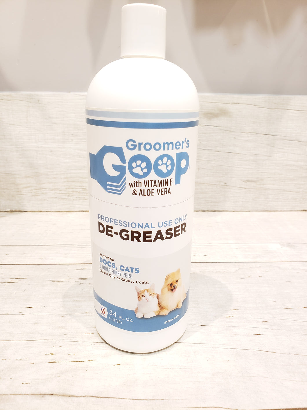 Groomer's Goop - 34 oz Bottle - Chubbs Bars,  - pet shampoo, Groomer's Goop - Chubbs Bars Company, Woofur Natural Pet Products - Chubbs Bars Canada