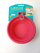 Load image into Gallery viewer, Messy Mutts Silicone Collapsible Bowl