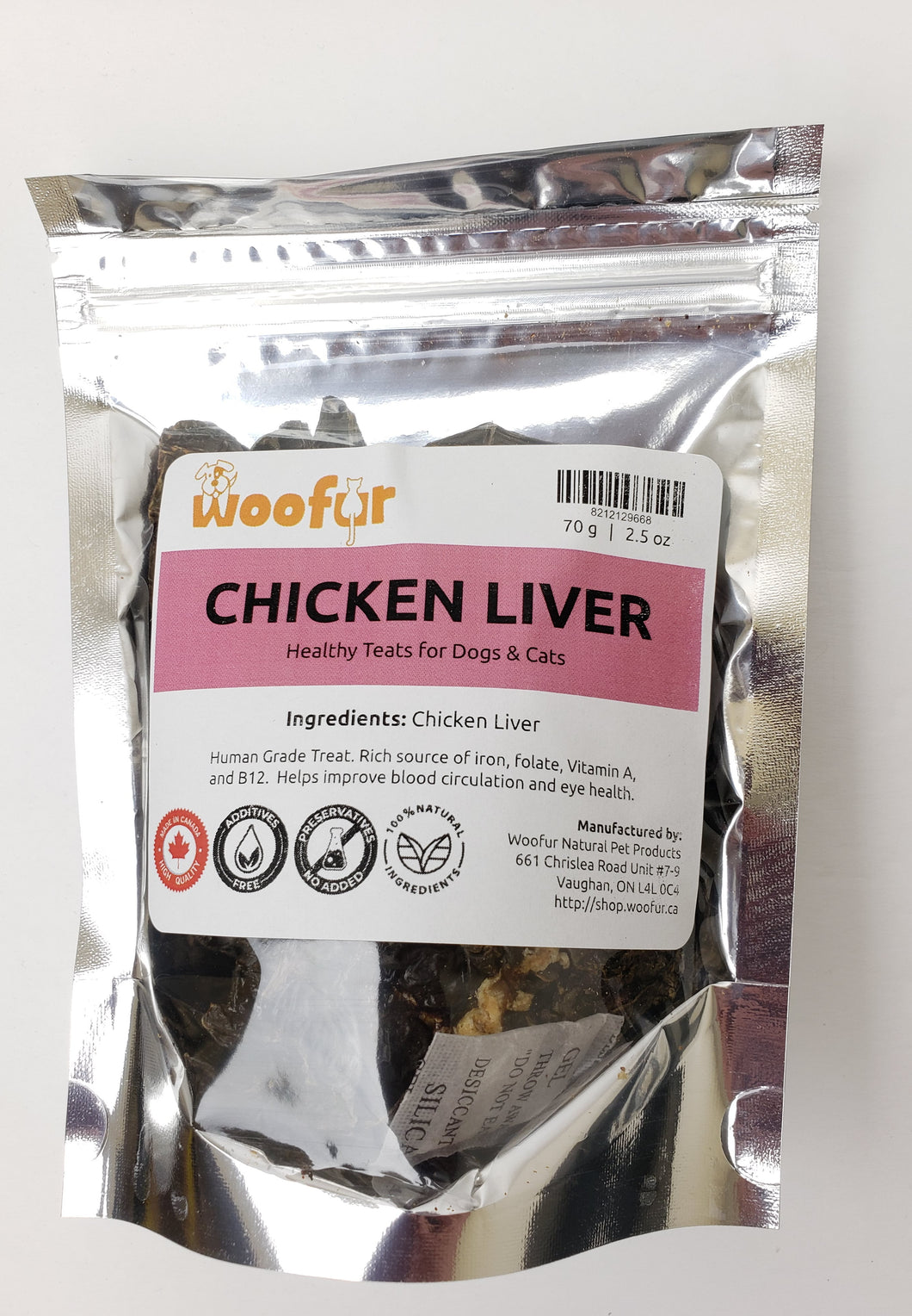 Woofur Dehydrated Chicken Liver