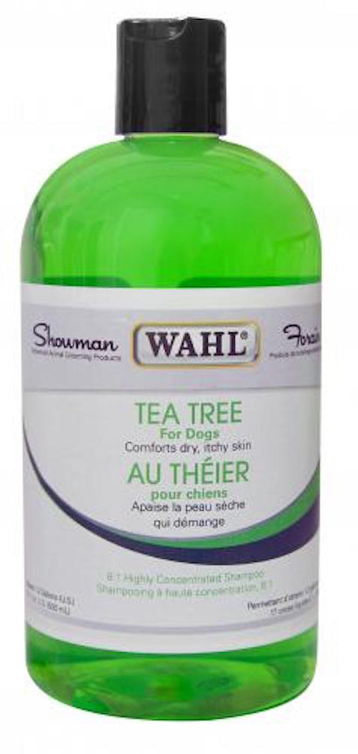 WAHL - Tea Tree Shampoo - Chubbs Bars, Toys - pet shampoo, Woofur - Chubbs Bars Company, Woofur Natural Pet Products - Chubbs Bars Canada