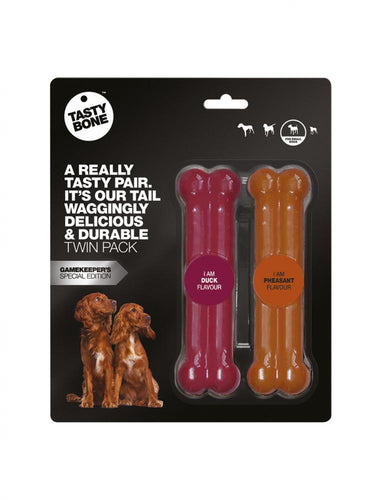 Tasty Bone - Twin Pack Toy - Chubbs Bars, Supplements - pet shampoo, Woofur - Chubbs Bars Company, Woofur Natural Pet Products - Chubbs Bars Canada