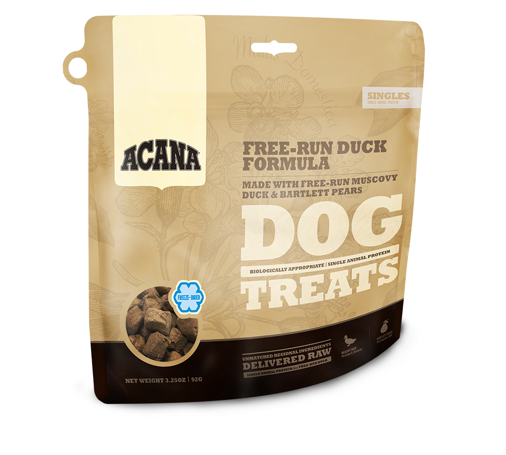 ACANA FD TREATS - FREE-RUN DUCK - Chubbs Bars, Treats - pet shampoo, Woofur - Chubbs Bars Company, Woofur Natural Pet Products - Chubbs Bars Canada