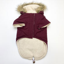 Load image into Gallery viewer, Canada Pooch - Alaskan Army Parka (Maroon)