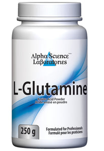 Alpha Science L-Glutamine Powder - 250 g