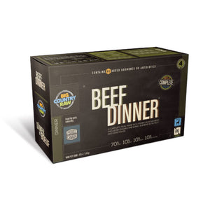 BCR - BEEF DINNER - 4LB - Woofur Natural Pet Products