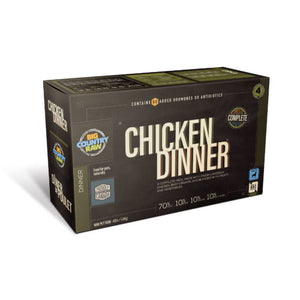 BCR - CHICKEN DINNER - 4LB - Woofur Natural Pet Products