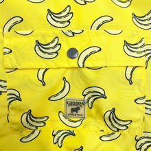 Load image into Gallery viewer, Canada Pooch - Rain Jacket (Bananas)