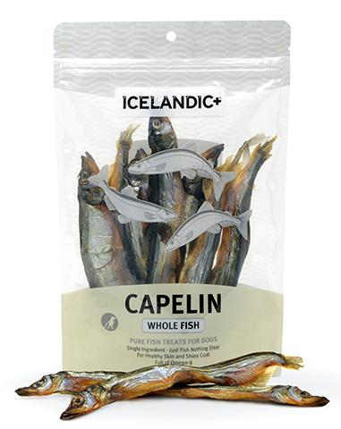 Icelandic+ Treats - Capelin Whole Fish - Woofur Natural Pet Products