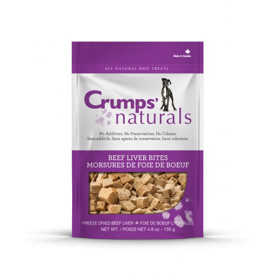Crumps' Naturals Treats - CRUMPS Beef Liver Bites - Chubbs Bars, Treats - pet shampoo, Woofur - Chubbs Bars Company, Woofur Natural Pet Products - Chubbs Bars Canada