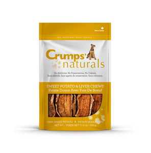Crumps' Naturals Treats - CRUMPS Sweet Potato/Liver Chew - Woofur Natural Pet Products