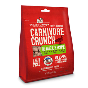 Stella & Chewy's - Carnivore Crunch Duck Treats - Chubbs Bars, Treats - pet shampoo, Woofur - Chubbs Bars Company, Woofur Natural Pet Products - Chubbs Bars Canada