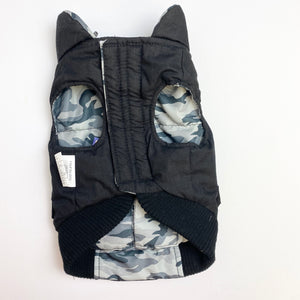 FouFouDog - Grey Camo Reversible Jacket