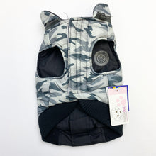 Load image into Gallery viewer, FouFouDog - Grey Camo Reversible Jacket