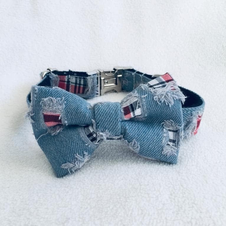 LWD - Denim Collar - Chubbs Bars,  - pet shampoo, Woofur Natural Pet Products - Chubbs Bars Company, Woofur Natural Pet Products - Chubbs Bars Canada