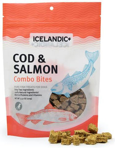 Icelandic+ Treats - Cod & Salmon - Chubbs Bars, Treats - pet shampoo, Woofur Natural Pet Products - Chubbs Bars Company, Woofur Natural Pet Products - Chubbs Bars Canada