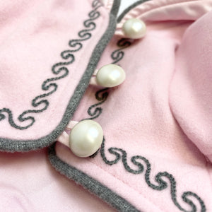 IsPet - Pink Coat with Pearls